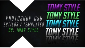 Text Templates / Letras Editables | PSD - Photoshop CS6