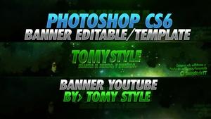Banner Editable GFX (Photoshop CS6) - Template PSD