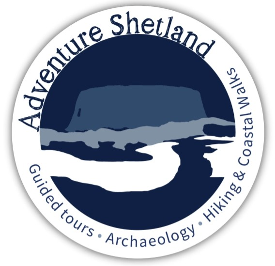 Adventure Shetland Logo Sticker - Clear