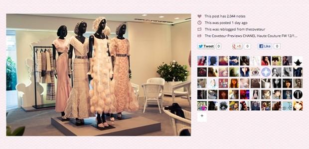 Pandora - Fashion based gridded tumblr theme