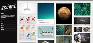 Escape - Sidebar based multicolumn tumblr theme
