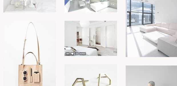 Vision 2 - Super minimal Tumblr theme