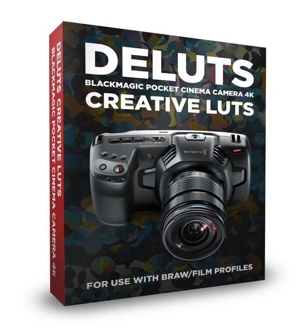 DELUTS Blackmagic Pocket Cinema Camera 4K Creative Looks