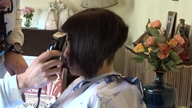 08 Huaina: Long bob, inverted bob, buzzed nape, chelsea cut, buzzed & headshave