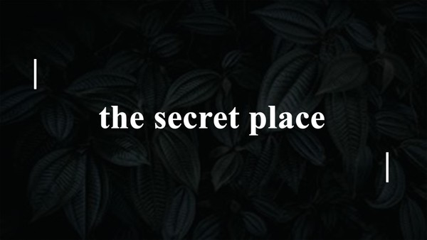 The Secret Place - Pastor Cedric Rouson ( MP3 Audio)