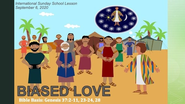 #ZoomIntoSundaySchool for September 6, 2020 -Biased Love  📚⬅️➡️❤️
