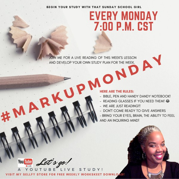 #MarkUpMonday for January 26, 2020 - Solomon's Blessing ⛪️🙌🏾