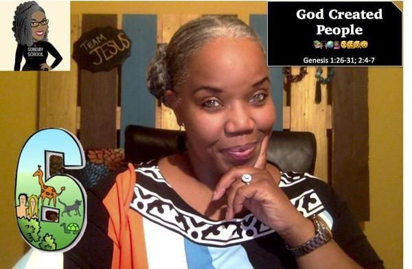 📚🙌🏾🌎💁🏽👨👩👧👦  God Created People