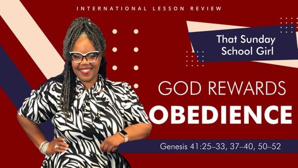 #TSSGNotes - September 13, 2020 - God Rewards Obedience 📚⬅️➡️❤️