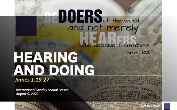 #ZoomIntoSundaySchool - August 9, 2020 - Hearing and Doing