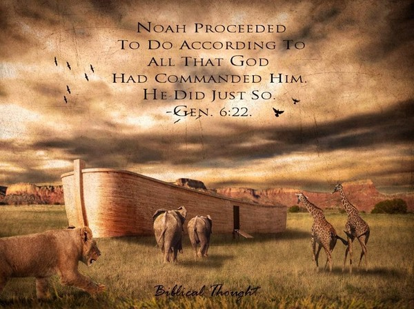📚🙌🏾🌎 Noah's Steadfast Faith - October 7, 2018