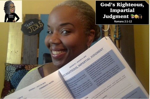 ⚖📚🙌🏾 God's Righteous, Impartial Judgment