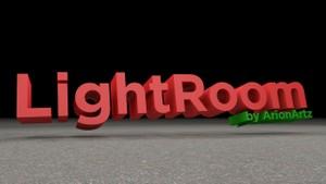 LightRoom + Materials + Gotham Font