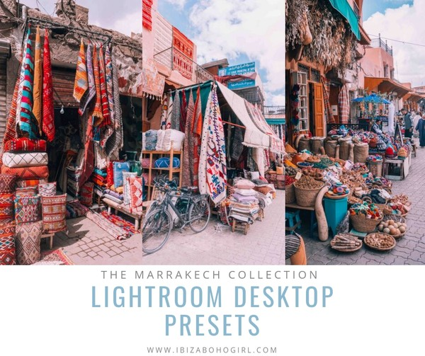 Ibizabohogirl Lightroom Presets The Marrakech Collection