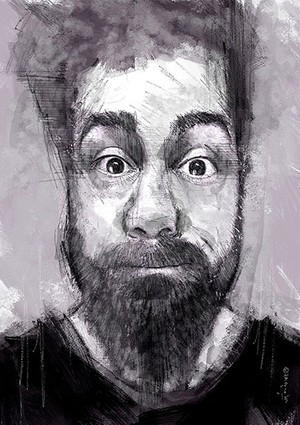 Lugosi - Portrait - Social Media Friend - A4 300dpi