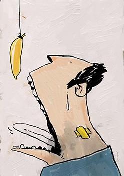 Bananaman! - A4 300dpi - FREE Download NOW! :)