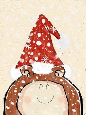 HAPPY CHRISTMAS BEAR! A3 - 300dpi