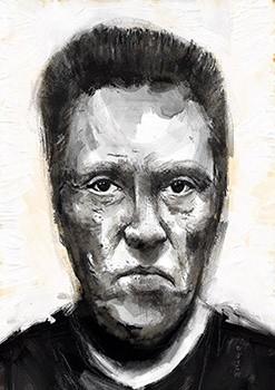 Christopher Walken. A4 300dpi - FREE Download Now!