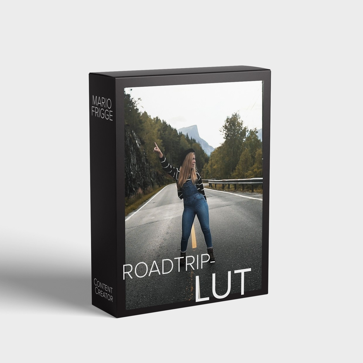 Roadtrip LUT for Video (Adobe Premiere, Final Cut, Davinci Resovle)
