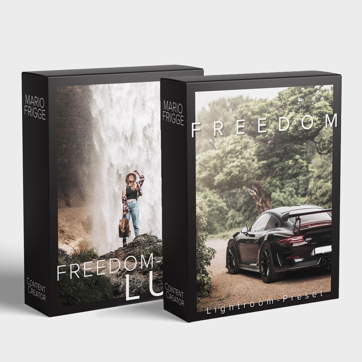 FREEDOM Pack | LUT für Video + Lightroom Preset 🎥🤜🏼🤛🏼📸
