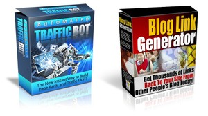 $1 AUTOMATED TRAFFIC BOT and AUTO BLOG COMMENTER