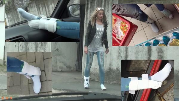 Kimberly - Life without shoe Part2
