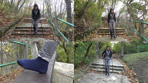 Gaby - Long Stairs Part1