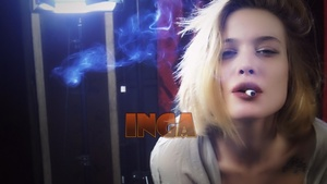 Smoking Model & Actress Inga 1.