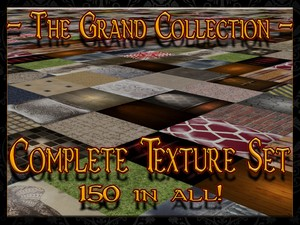 Complete Set - TEXTURES GALORE
