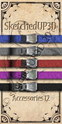 Accessories 12 - Belt Texture Bundle