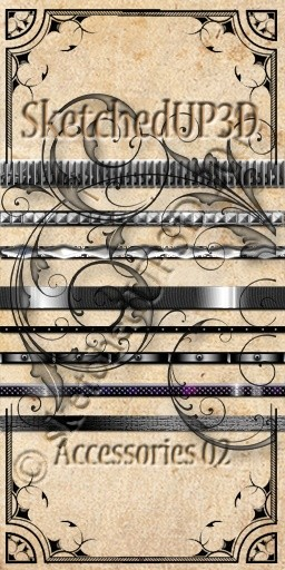 Accessories 02 - Belt Texture Bundle