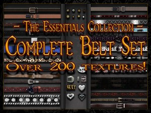 Complete Set - Belt Mega Bundle
