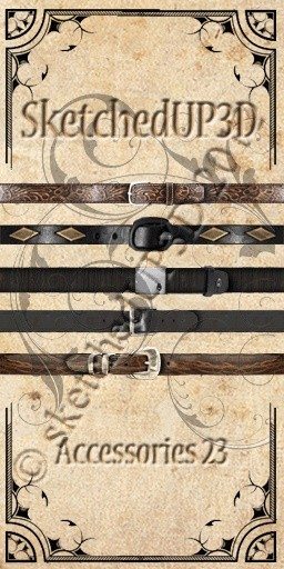 Accessories 23 - Belt Textures