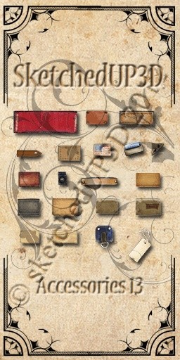 Accessories 13 - Jean Patches Textures Bundle