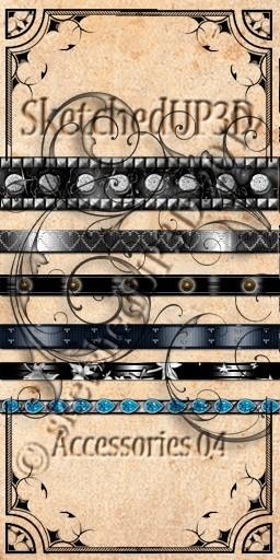 Accessories 04 - Belt Texture Bundle