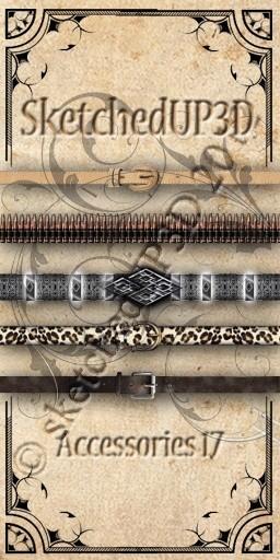 Accessories 17 - Belt Textures