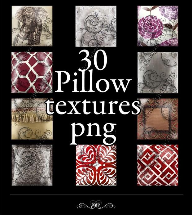 30 Pillow Texture Bundle