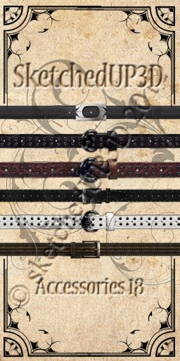 Accessories 18 - Belt Texture Bundle