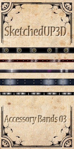 Accessories 03 - Belt Texture Bundle