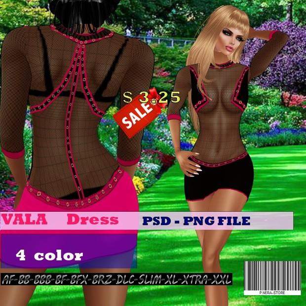 VALA DRESS TEXTURE HD