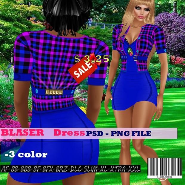 BLASER DRESS TEXTURE HD