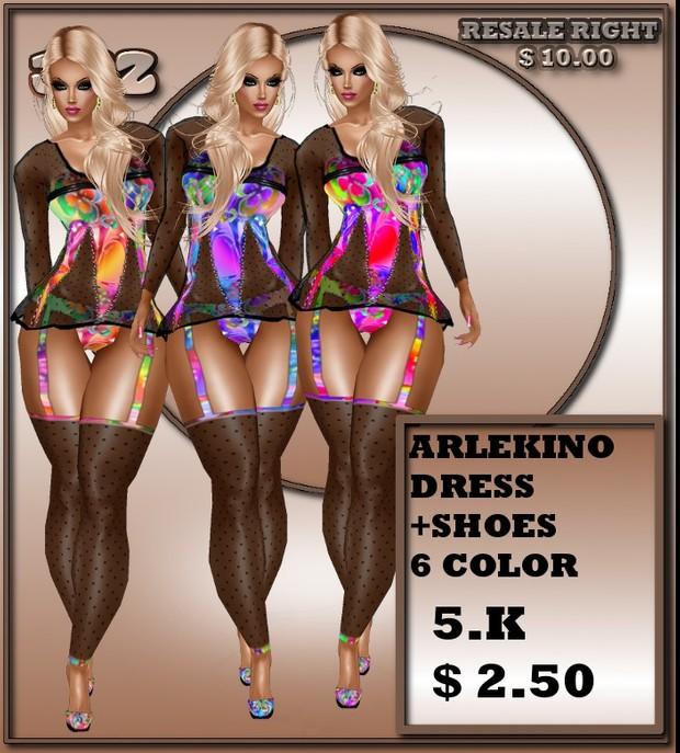 ARLECCHINO DRESS BF2