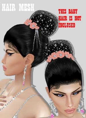 HAIR MESH WEDDING