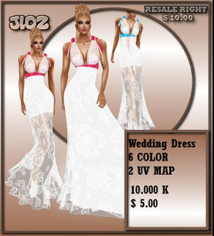 weddin dress _delure