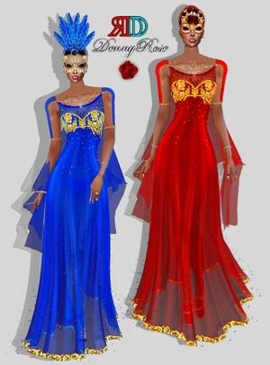 VENEZIAN DRESS TEXTURE