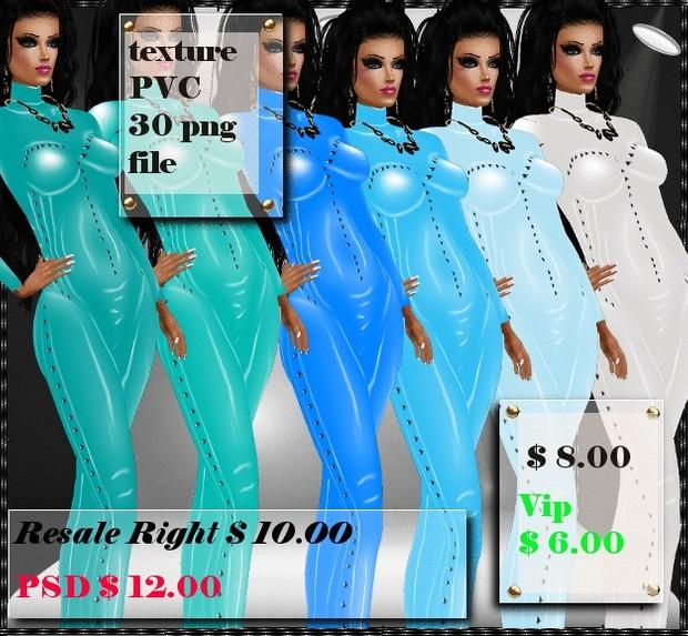 body suit pvc texture
