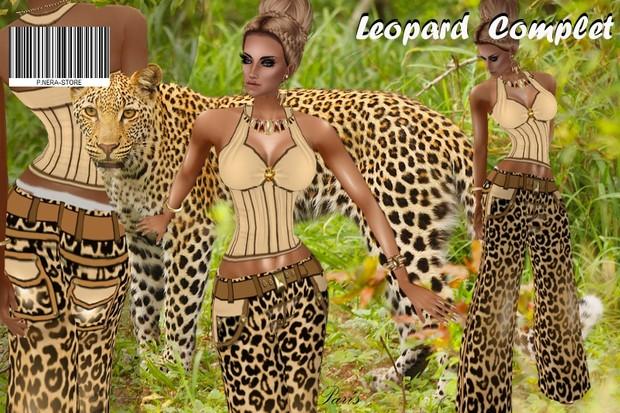 LEOPARD COMPLET  TEXTURE