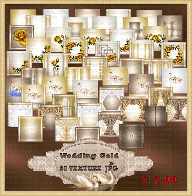 WEDDING GOLD TEXTURE  ROOM