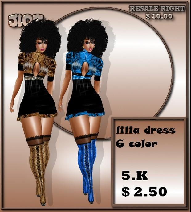 LILIA DRESS  BF2