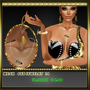 set mesh jewelry 14